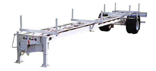 28-40 Foot Extendable Pole Trailer