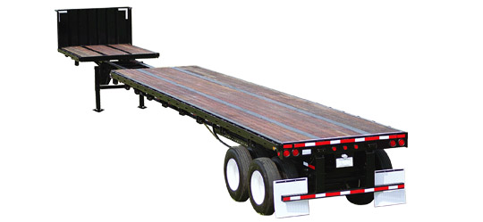 48-80 Foot Extendable Flatbed