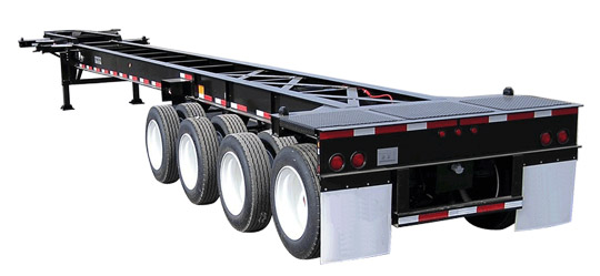 53-40-48 Foot Quad Axle Gooseneck Chassis